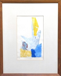 Composition in Blue and Yellow