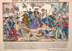 Mort de Monseigneur l\'Archeveque de Paris