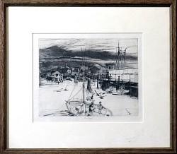 Dusk at Fisherman\'s Wharf