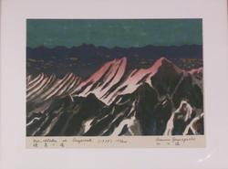 Mt. Hotaka at Daybreak