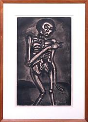 Death Took Him as He Rose From a Bed of Nettles (La mort l\'a pris comme il sortait du lit d\'orties )
