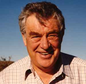 Photo of Ian Carmichael in the 1990s by Rebecca Lange